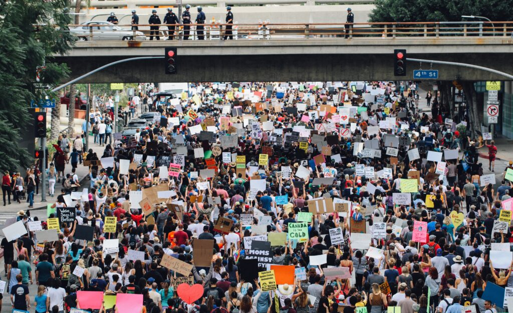 Los Angeles protesters, Alex Radelich